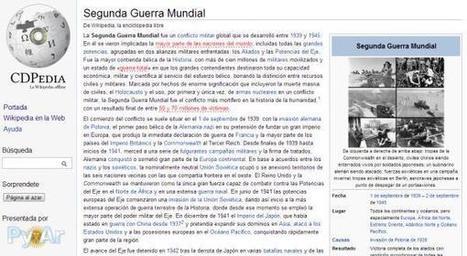 CDpedia, recurso libre para leer la Wikipedia de forma offline   Sitios y herramientas de interés general   Scoop.it