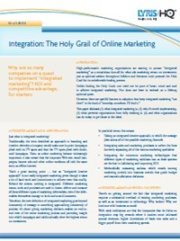 White Paper: How to Effectively Integrate Social Media and Online Marketing | Stagiaire Expert-Comptable mémorialiste | Scoop.it