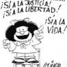 Caricaturas e historietas de connotación político-social.