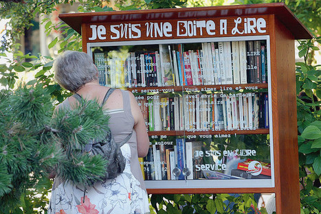 Des «boîtes à lire» pour faire circuler les livres | Innovations urbaines | Scoop.it