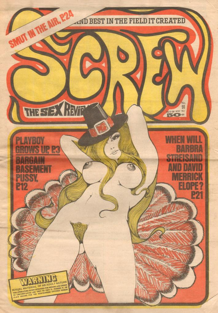 Vintage Screw Magazine | Sex History | Scoop.it