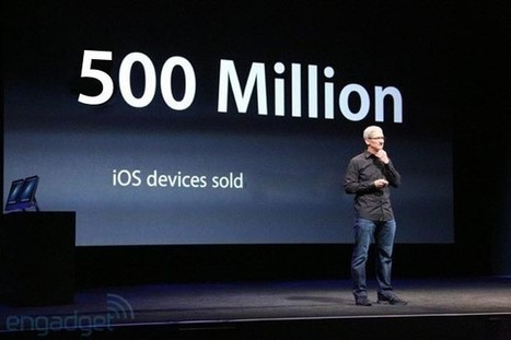 Apple: over 500 million iOS devices sold | Digital all | Scoop.it