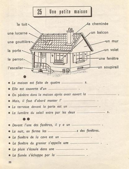 Manuels Anciens Exercices De Vocabulaire Cp 1