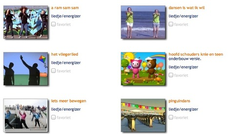 Schoolbordportaal: Energizers | Apps en digibord | Scoop.it