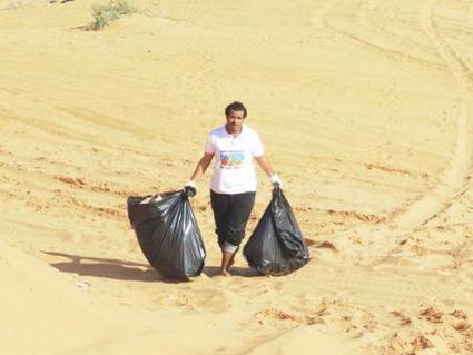 Saudi Gazette - Giving the desert a clean image | EFL in the GCC | Scoop.it