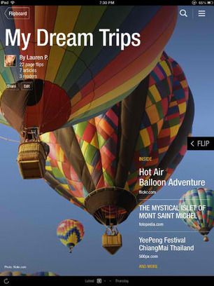 Now You Can Create Your Own Magazines With The Flipping Fantastic Flipboard 2.0   APPY HOUR   Scoop.it