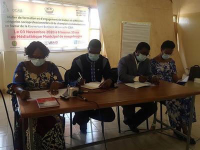 BURKINA FASO / Couverture sanitaire universelle au Burkina : Les acteurs de la société civile passent en revue tout le système de santé