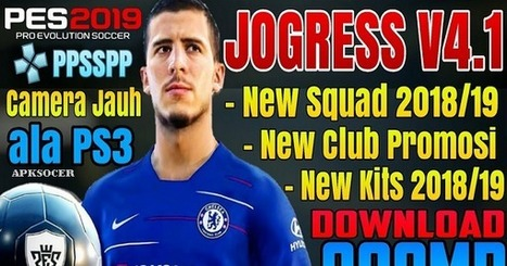 Download PES Jogress V4 1 Iso Ppsspp New Eropa