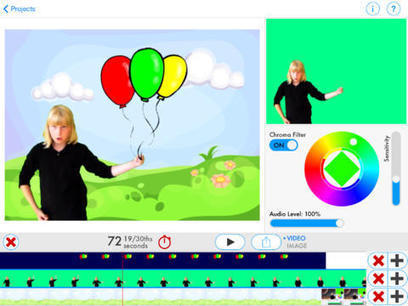 Green Screen by Do Ink   21st Century Homeschooling Apps   Scoop.it
