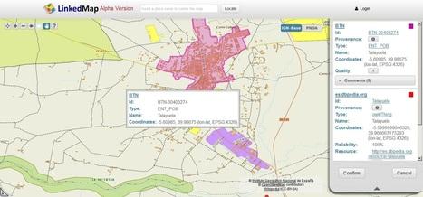Linked Map, un experimento para validar enlaces RDF entre la BCN/BTN25 y OpenStreetMap | Digitization&Metadata | Scoop.it