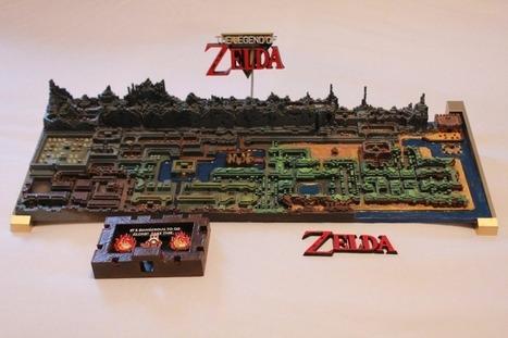 Original TheLegend of ZeldaMap Gets Printed In 3D | News we like | Scoop.it
