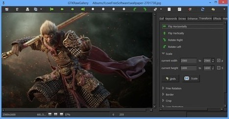 Free RAW Photo Management Software: GTKRawGallery   Time to Learn   Scoop.it
