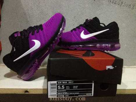 best authentic 6d09f d2f9e New Coming Nike Air Max 2017 KPU Purple Black Women Shoes  Runsairmax2017 -1115