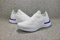 6606616d52bc Nike Epic React Flyknit White Blue  nikeepicreact-13000  -  64.95