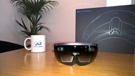 Prise en main du Microsoft HoloLens : l'avenir de l'informatique ?   Gadgets - Hightech   Scoop.it