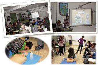 Primeros auxilios para el profesorado del centro   #TuitOrienta   Scoop.it