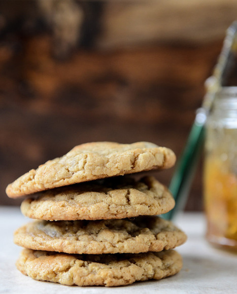 Peanut Butter Cookies with a Fig Preserves Swirl | How Sweet It Is | Cookie Baking | Scoop.it