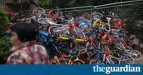 Chinese discard hundreds of cycles-for-hire in giant piles | Zero Waste Europe | Scoop.it