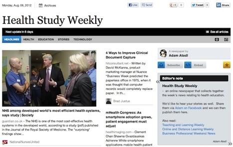Aug 6 - Health Study Weekly is out | Health Studies Updates | Scoop.it