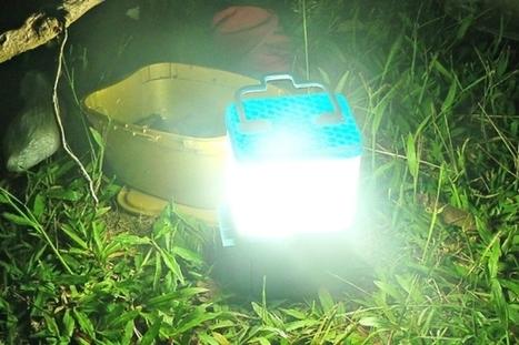 SALt : une lampe qui fonctionne à l'eau de mer | Solutions alternatives pour un monde en transition | Scoop.it