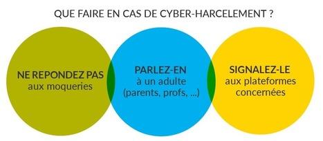7 conseils aux plus jeunes pour lutter contre le cyber-harcèlement | EDUCNUM | Des ressources numériques pour enseigner | Scoop.it