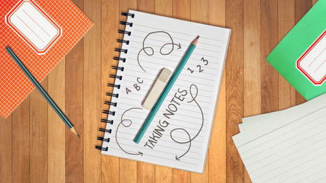 Back to Basics: Perfect Your Note-Taking Techniques | Diversidad y Edu | Scoop.it