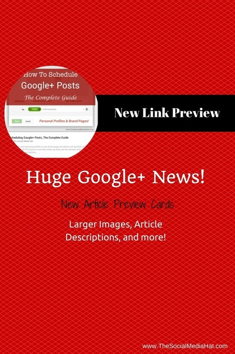 Google+ Game Changing Update: Full Image Teasers | Google - a Plus for Business | Scoop.it