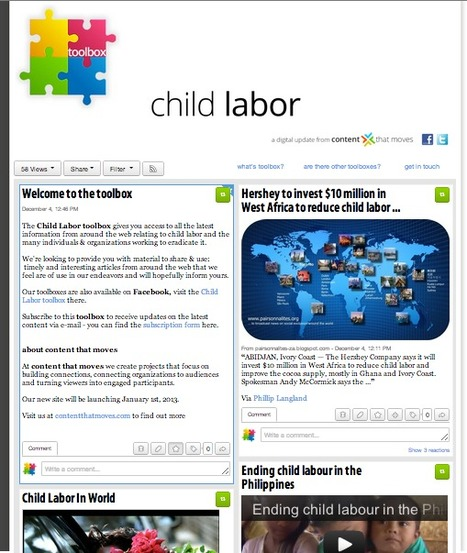 The Child Labor ToolBox | SocialMediaDesign | Scoop.it