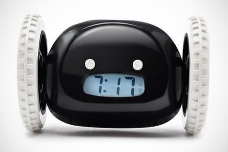#Clocky #Alarm WhitWheels | Stuff that matters to me | Scoop.it