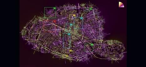 Ce que l'ORIENTATION des rues de Paris nous dit de son histoire | URBANmedias | Scoop.it