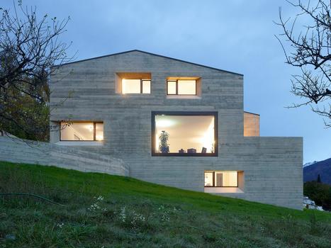 maison contemporaine in construire tendance page 18 scoopit - Maison Moderne Beton