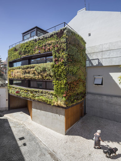 Extremely Green House in Lisbon by Luís and Tiago Rebelo de Andrade and Manuel Cachão Tojal | Extreme Architecture | News, E-learning, Architecture of the future at news.arcilook.com | Architecture news | Scoop.it