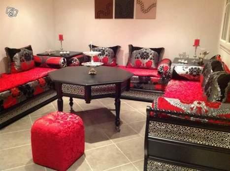Canapé salon marocain 2017 traditionnel ...