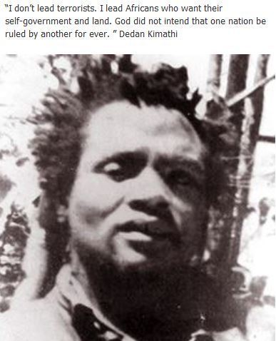 DEDAN KIMATHI | http://www.facebook.com/pages/Blacks-History-And-Africa-Education/299199820174323 | They put Afrika on the map | Scoop.it