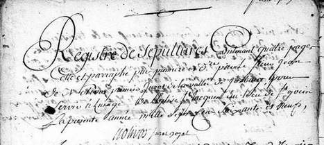 Journée Mondiale de l'Ecriture Manuscrite | GenealoNet | Scoop.it