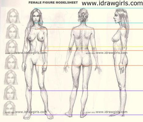 Learn how to draw woman female girl body figure step by step sketching and rendering online lesson how to draw and paint tutorials video and step by