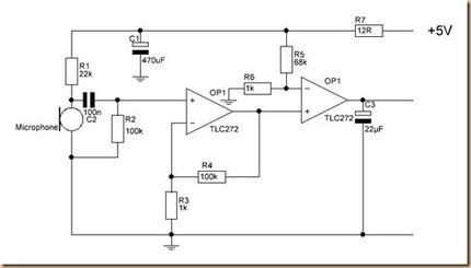 Electret microphone amplifier | Arduino in the Classroom | Scoop.it