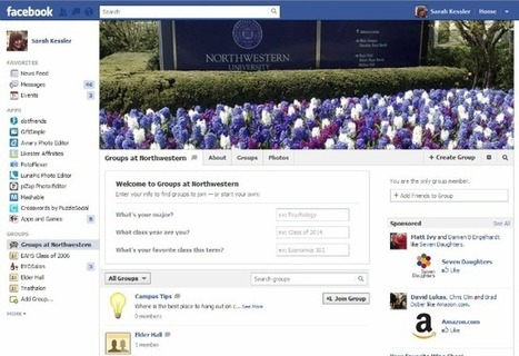 Facebook Launches Groups for Schools | Web 2.0 Education Tools | Scoop.it