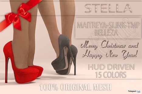 Stella Heels Shoes Group Gift by VeNuS Shoes | Teleport Hub - Second Life Freebies | Second Life Freebies | Scoop.it