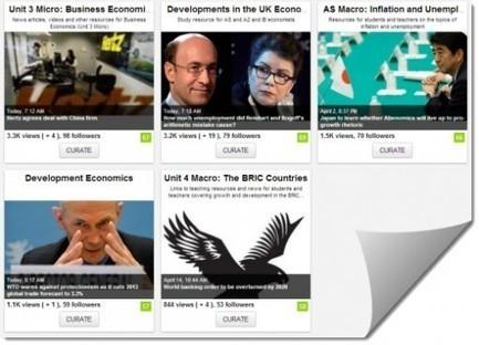 Scoop it Boards for Economics | community manager: zusammenarbeit und vernetzung mit social media | Scoop.it