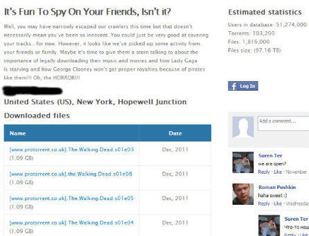 I Know What You Downloaded on BitTorrent…. | TorrentFreak | E-Learning Suggestions, Ideas, and Tips | Scoop.it