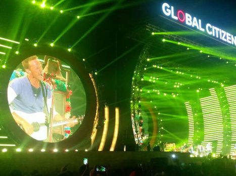 Global Citizen Festival: Chris Martin Performs. Can't. Keep. Calm - NDTV Movies | ☊ ☊ Harmony60 Music ☊ ☊ | Scoop.it