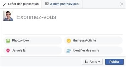 De nouvelles options de publication sur les pages Facebook - Blog du Modérateur | Smartphones et réseaux sociaux | Scoop.it