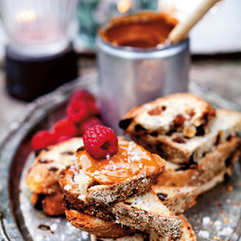 Rezept von Lisa Lemke: Dulce-de-leche-Brot | Brownies, Muffins, Cheesecake & andere Leckereien | Scoop.it