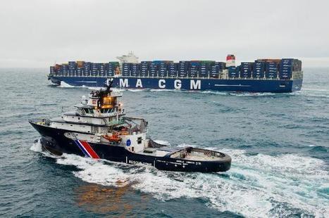 Quand l'Abeille Liberté croise le plus gros porte conteneur du monde   La Manche Libre cherbourg   Actu Basse-Normandie (La Manche Libre)   Scoop.it