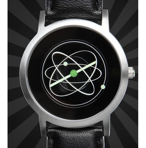 Atom Watch: Basic Unit of Matter Makes for Complicated Watch | All Geeks | Scoop.it