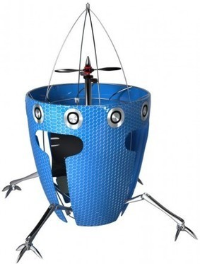 AirBurr robot designed to crash and keep on flying | Geek.com | The Robot Times | Scoop.it