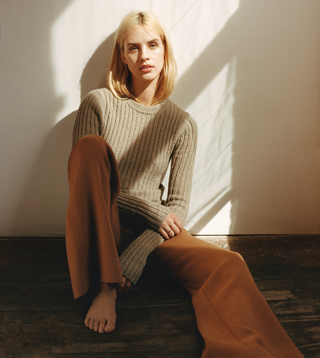 [editorial] 'Knit Picky' | Julia Frauche shot by Matteo Montanari for WSJ May 2015 | Fashion & more... | Scoop.it