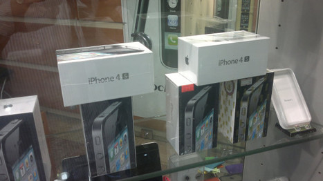 Not available in the EU, but Iphone 4S for sale in Tehran sin... on Twitpic | iPad - iPhone News | Scoop.it