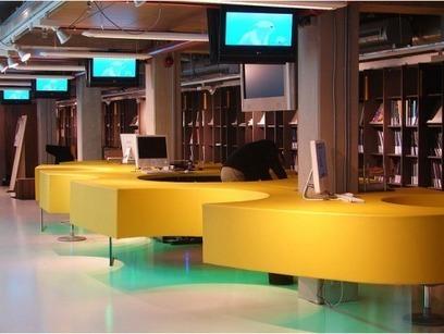 7 principes à considérer en aménagement de bibliothèques | Accueil des publics | Scoop.it